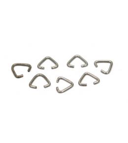 11x14 mm Anahtarlık Bağlantı Üçgeni, Nikel Kaplama