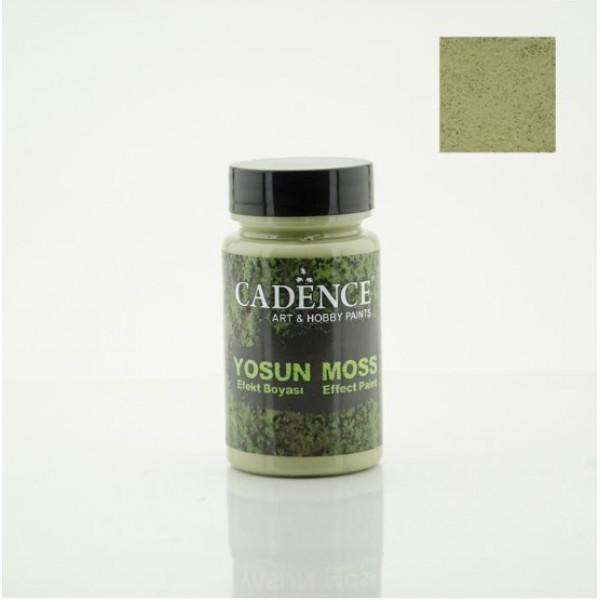 Cadence 3640 Yeşil Yosun Efekt Boyası