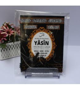 Kâbe Yasin + Tespih + jelatin set
