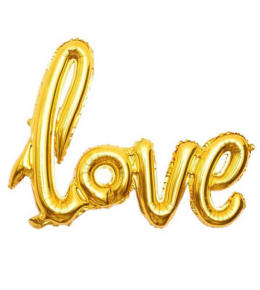 'Love' Folyo Balon